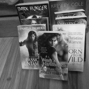 Assortment of different types of Romance Novels